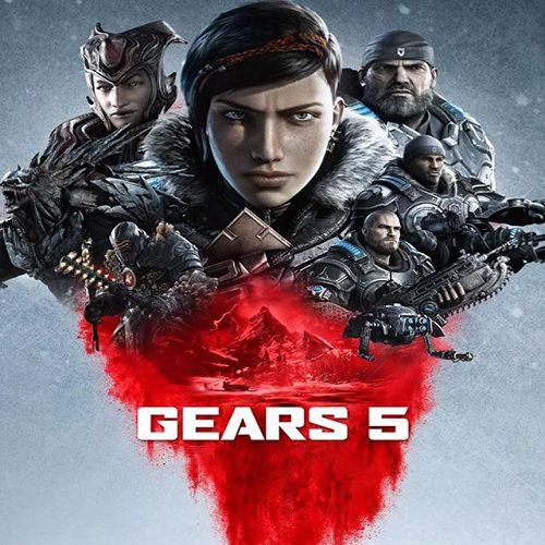 کنترلر با تم بازی Gears 5