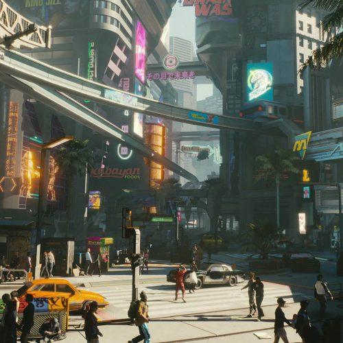 نقشهی بازی Cyberpunk 2077