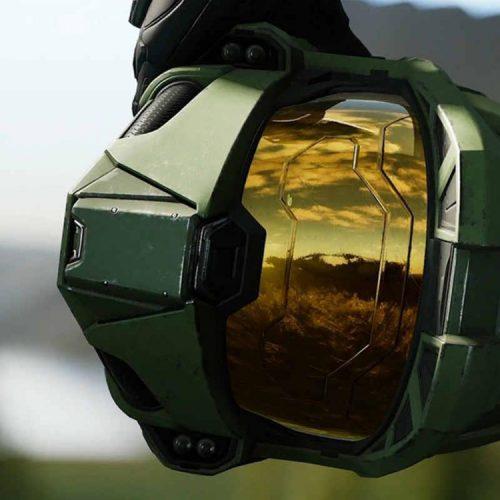 صورت مستر چیف در سریال Halo