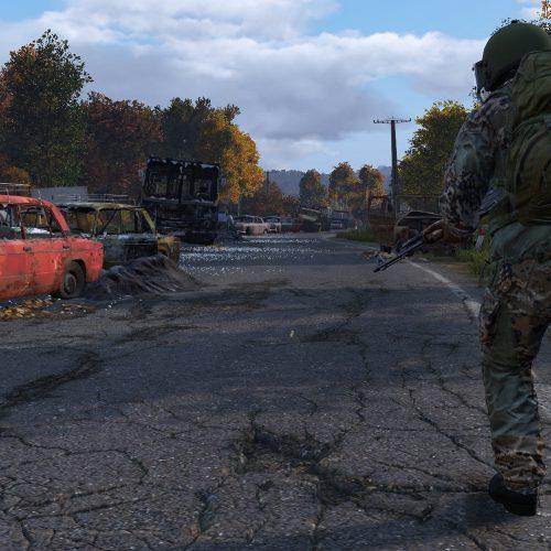 نقشه جدید بازی DayZ