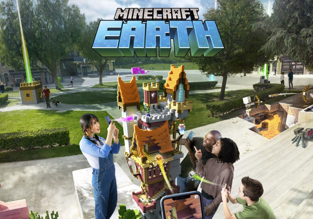 نسخه Early Access بازی Minecraft Earth