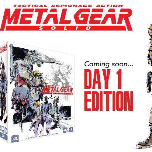 بازی رومیزی Metal Gear Solid