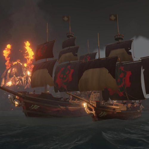 پرچم Gears of War در Sea of Thieves