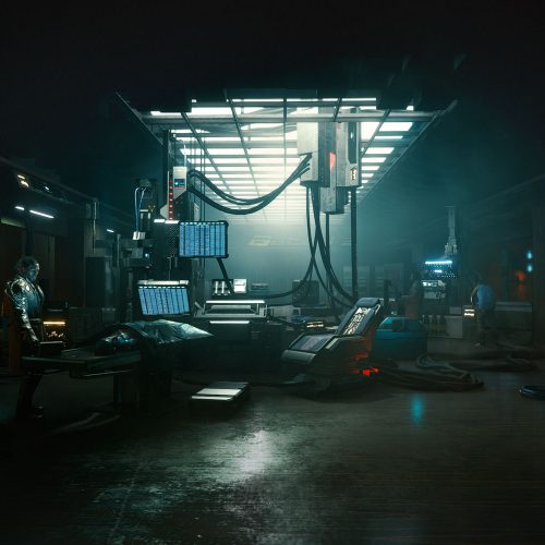 موتور گرافیکی بازی Cyberpunk 2077