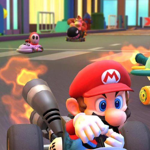 بخش چندنفرهی Mario Kart Tour
