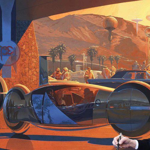 طراح مفهومی فیلم Blade Runner