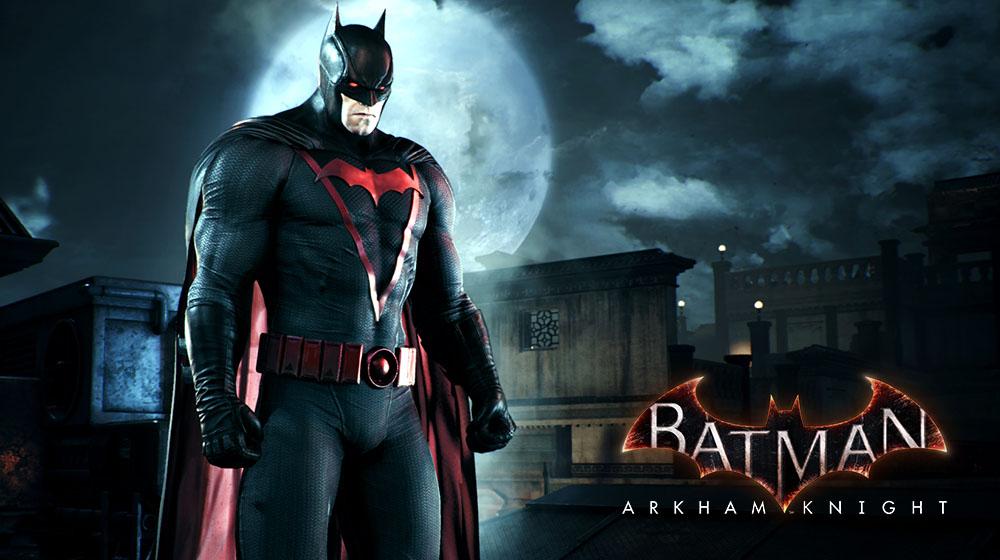 بازی Batman: Arkham Knight پوستهی Earth 2 Dark Knight