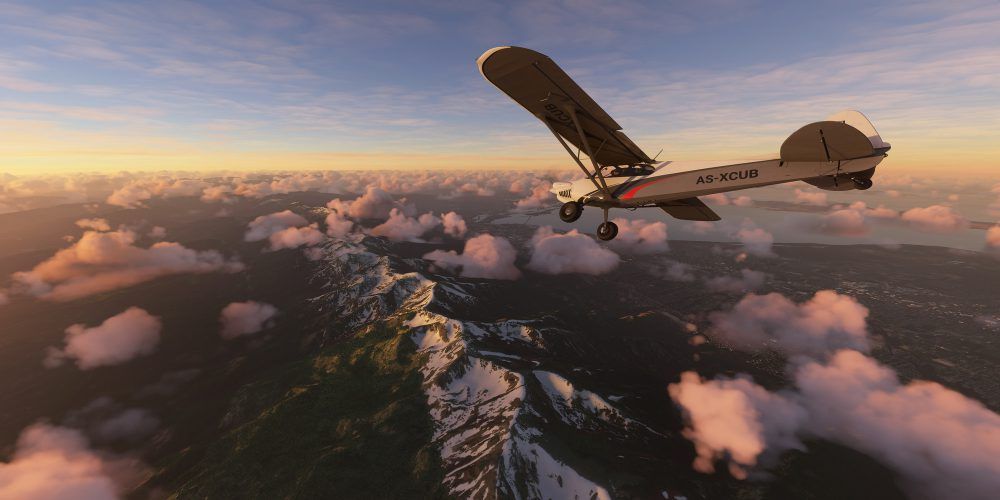 تغییرات فصلی در بازی Microsoft Flight Simulator