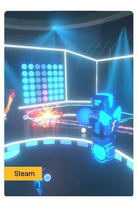 Robot Roller-Derby Disco Dodgeball - Steam
