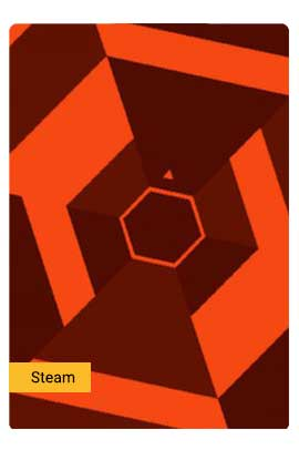 Super Hexagon - Steam