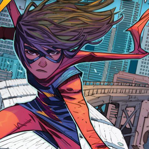 سال انتشار سریال Ms. Marvel