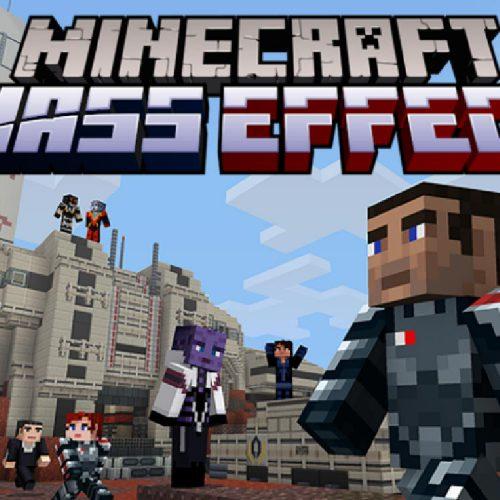Mass Effect بازی Minecraft