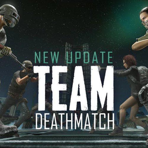 حالت Team Deathmatch بازی PUBG