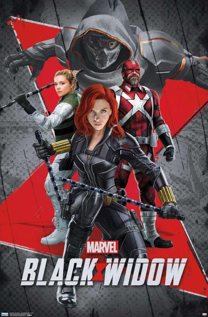 پوستر جدید Black Widow