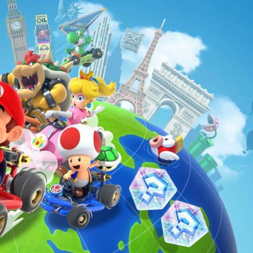 آپدیت جدید بازی Mario Kart Tour