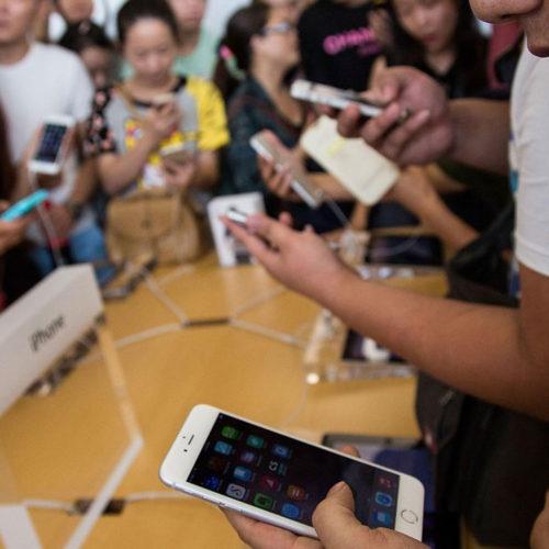 فروش گوشی در چین