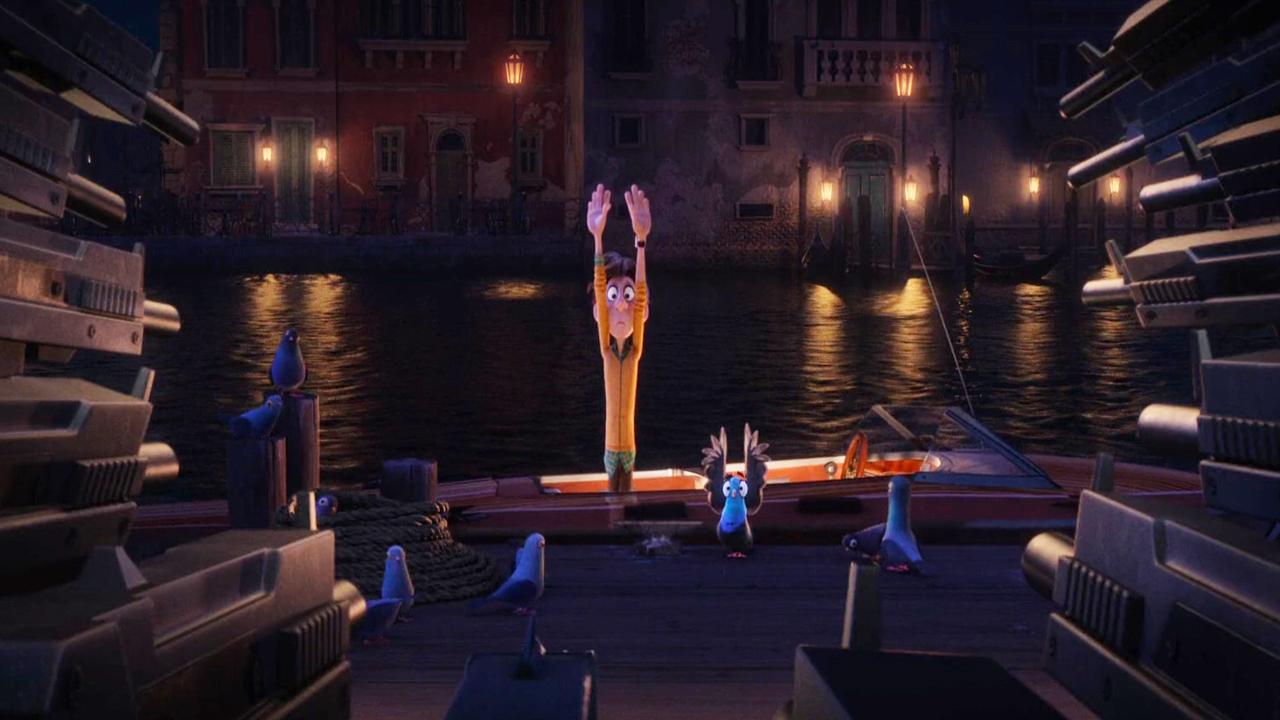 صحنههای پرجنب و جوشی که سرتاسر انیمیشن را فراگرفتهاند، در کنار کمدی، اصلیترین فاکتور کشش نسبتا قدرتمند انیمیشن هستند.