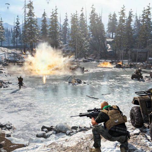 بازیکن Call of Duty: Warzone