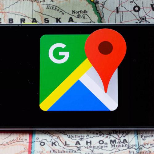 گوگل مپس نقشه گوگل