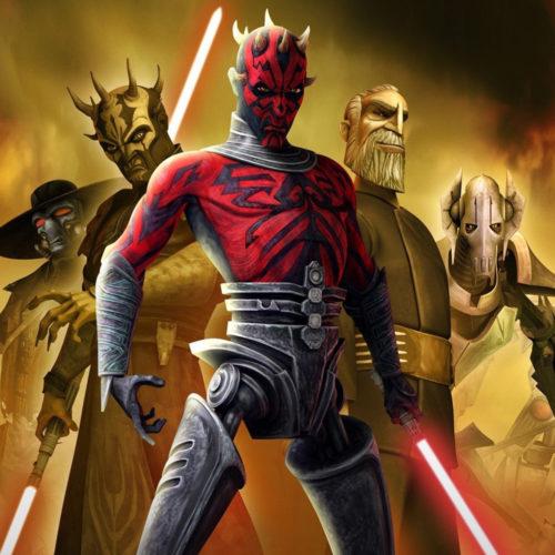 صداپیشهی سریال Star Wars: The Clone Wars