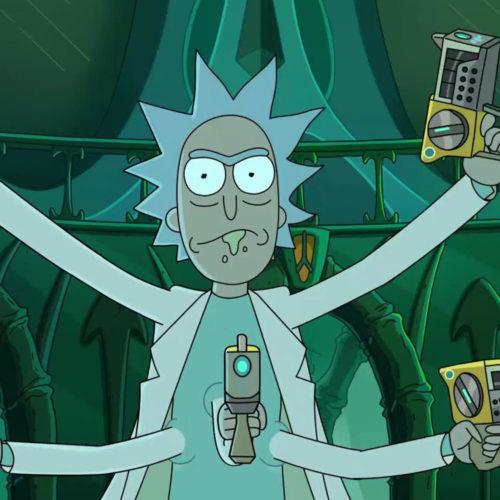 فصل چهارم سریال Rick and Morty