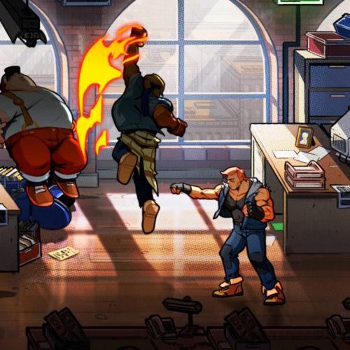 تریلر جدید بازی Streets of Rage 4