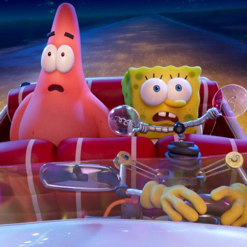 اکران The SpongeBob Movie: Sponge on the Run