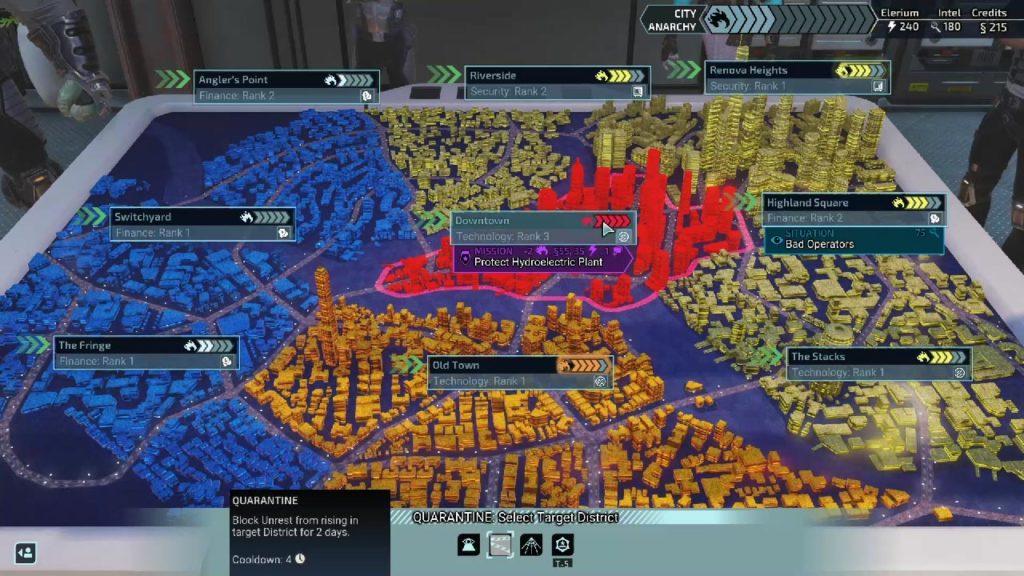 شهر 31 در بازی XCOM: Chimera Squad