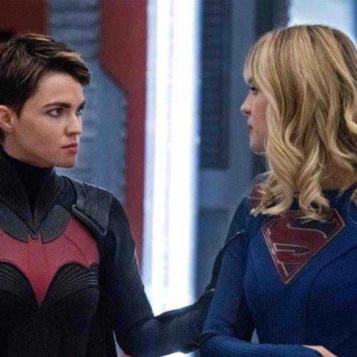 کراساور Batwoman با Supergirl