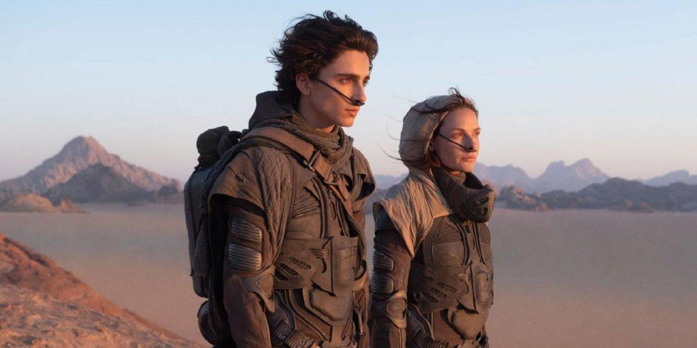 تیموتی شالامی و جاش برولین Dune