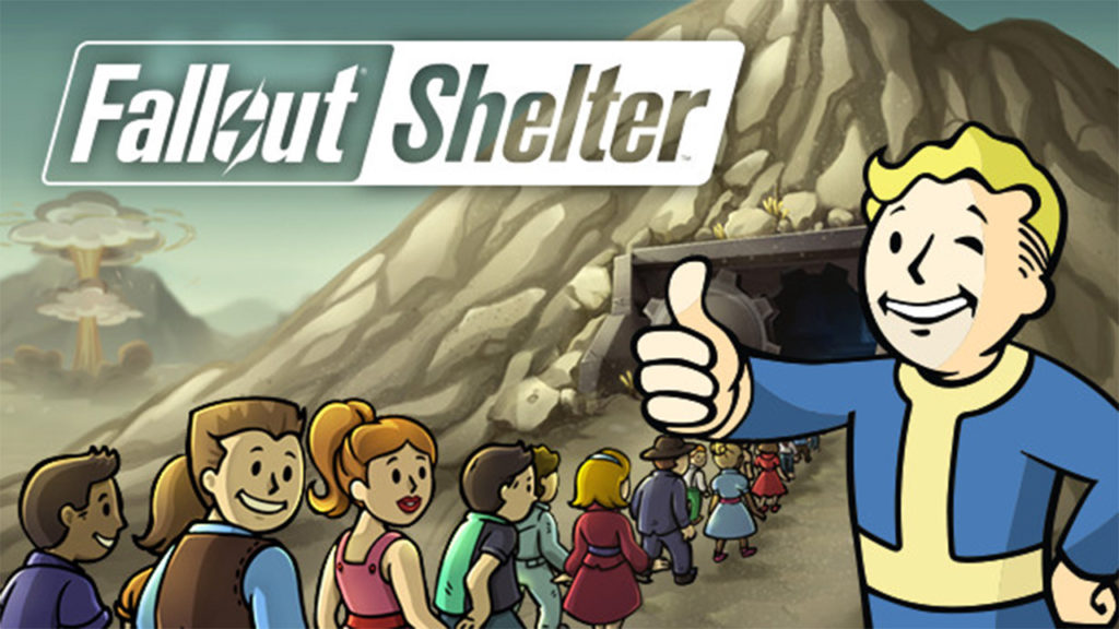 بازی موبایل fallout shelter