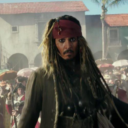 حضور جانی دپ فیلم جدید Pirates of the Caribbean