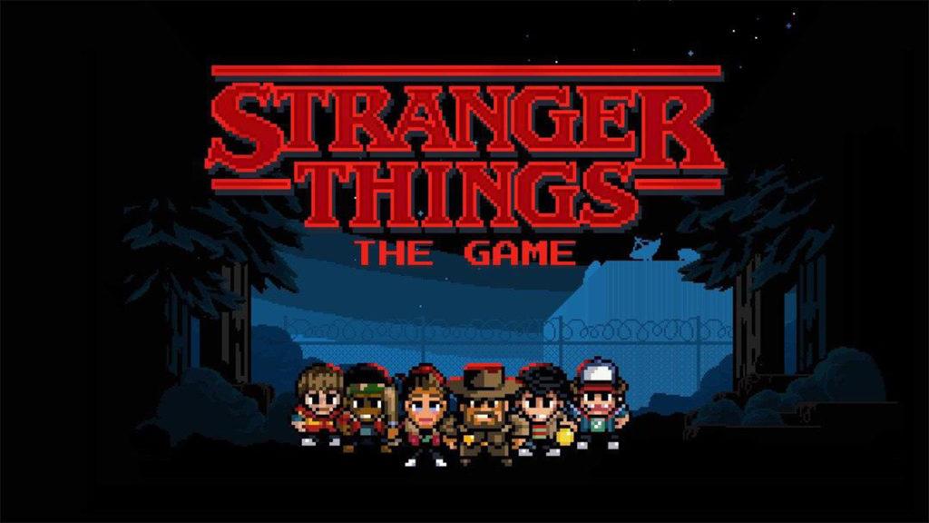 بازی موبایل stranger things game