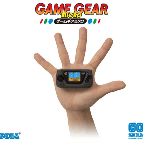 کنسول مینیاتوری Game Gear Micro