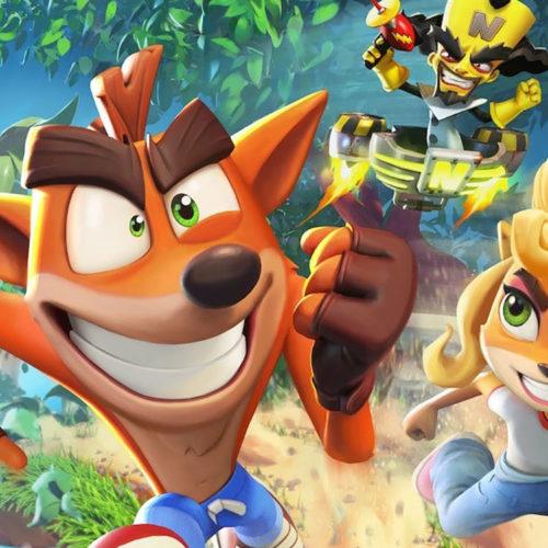 بازی موبایل Crash Bandicoot: On The Run