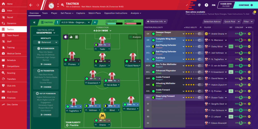 عرضهی Football Manager 2021