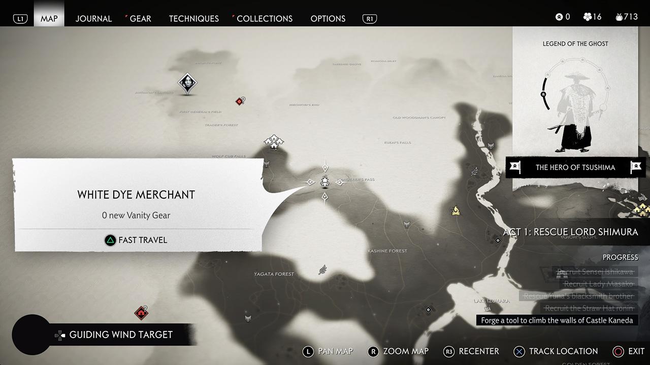 راهنمای بازی Ghost of Tsushima