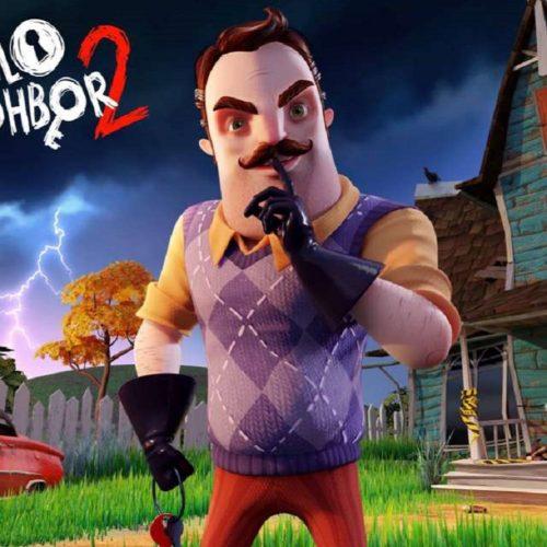 رونمایی بازی Hello Neighbor 2