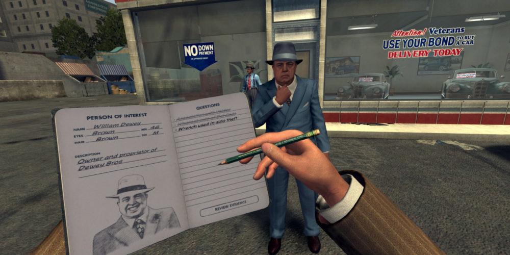 سازنده LA Noire VR