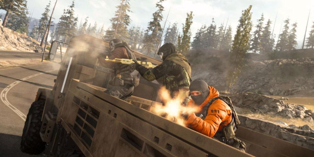 نسخهی پلیاستیشن Call Of Duty: Warzone