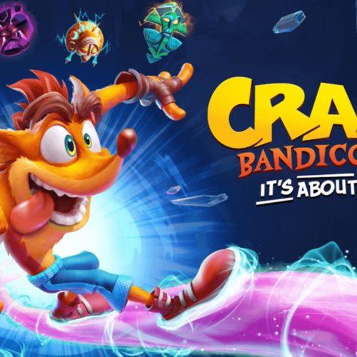 تریلر جدید گیم پلی Crash Bandicoot 4