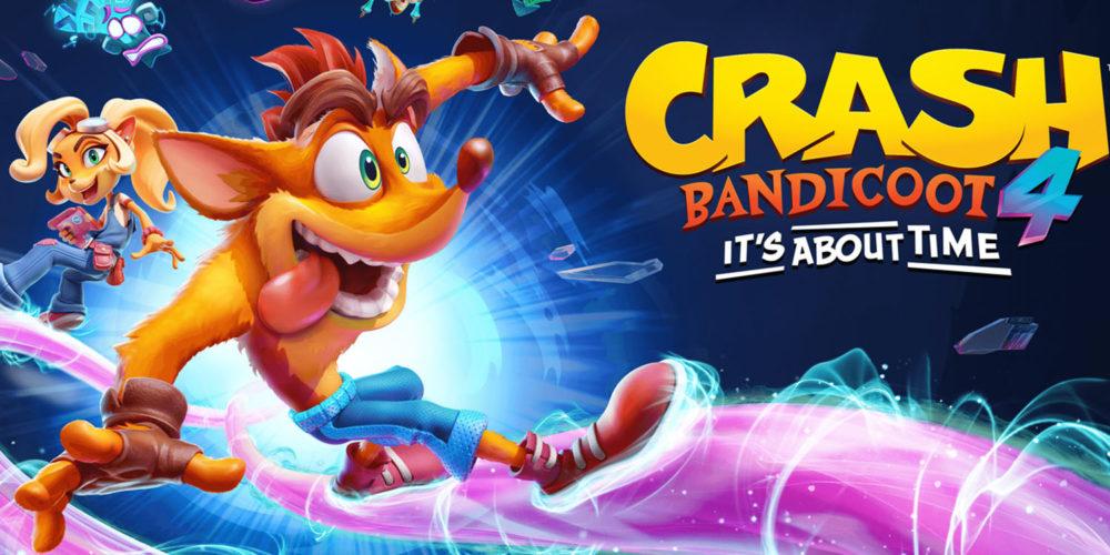 اطلاعات جدیدی از بازی Crash Bandicoot 4 در مراسم گیمزکام رونمایی شد