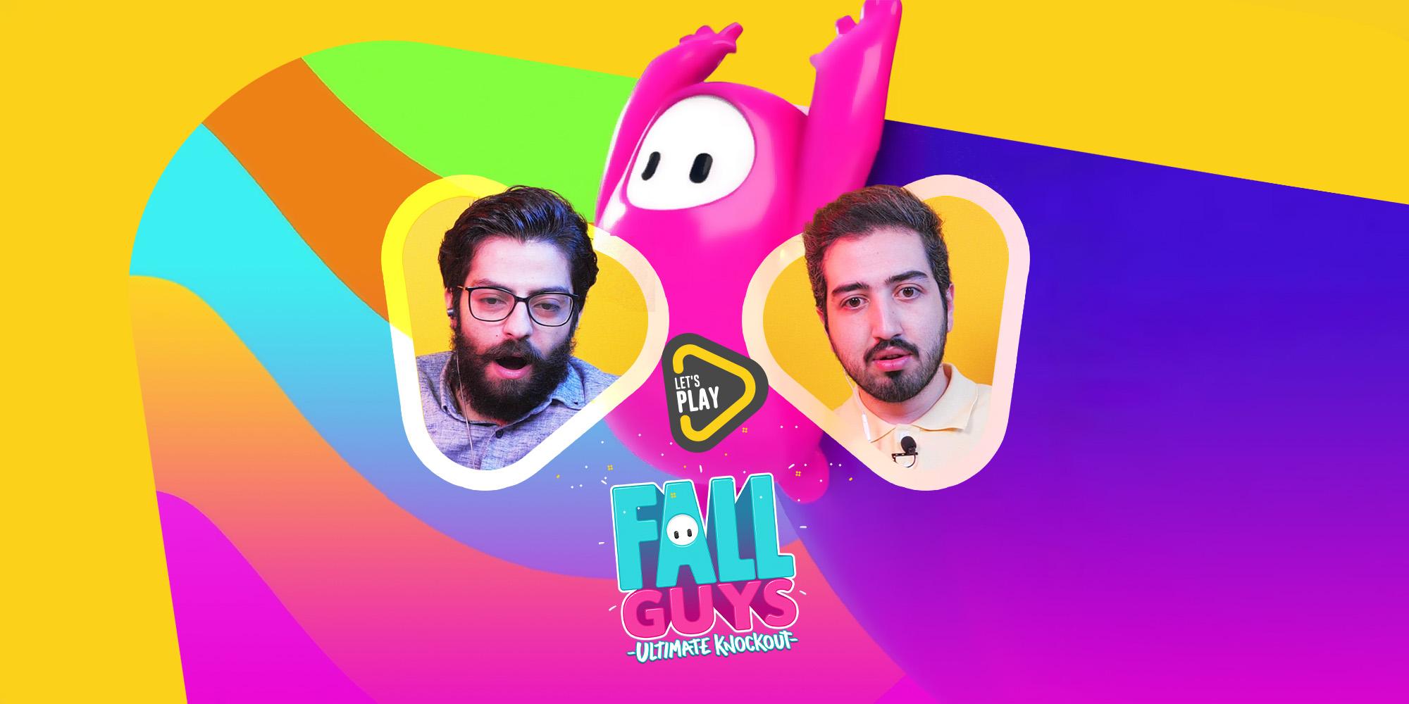 لتس پلی بازی Fall Guys