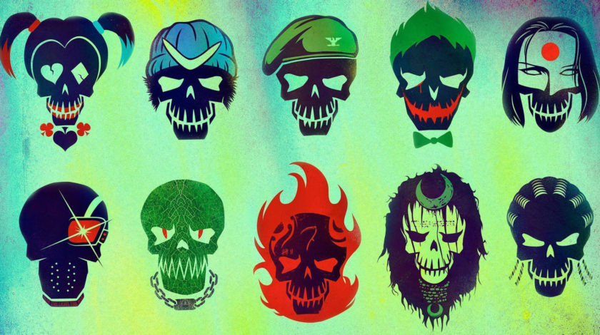 لوگوی رسمی The Suicide Squad