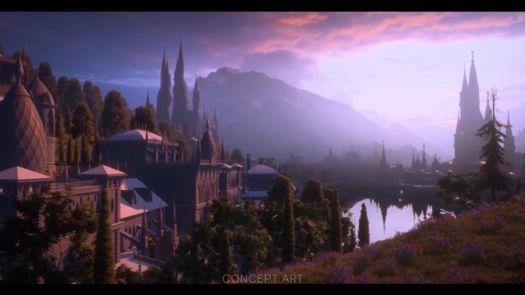 کانسپت آرت Dragon Age 4 در گیمزکام ۲۰۲۰