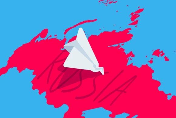 فیلتر تلگرام در روسیه