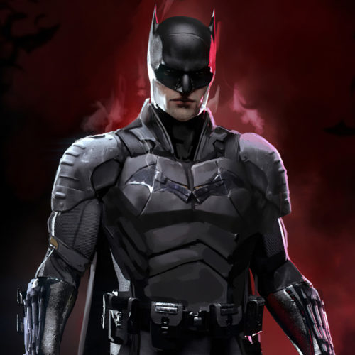 لوگوی رسمی The Batman