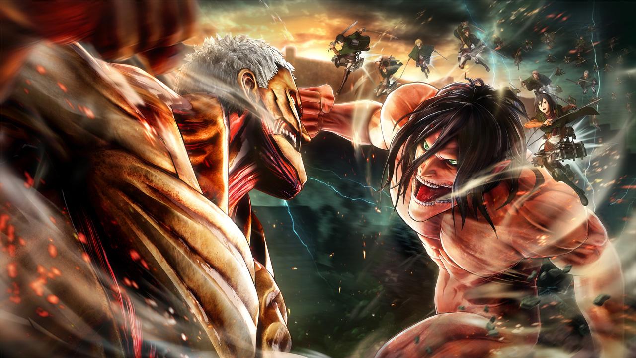 انیمهی Attack on Titan