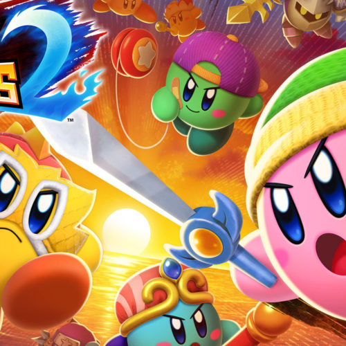 بازی Kirby Fighters 2