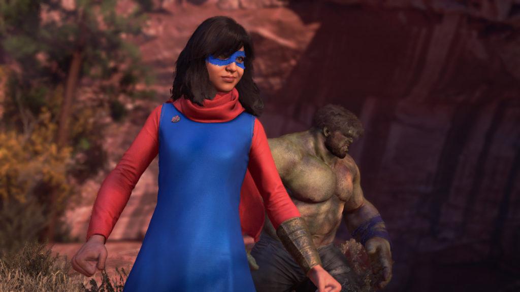 کامالا خان در بازی Avengers